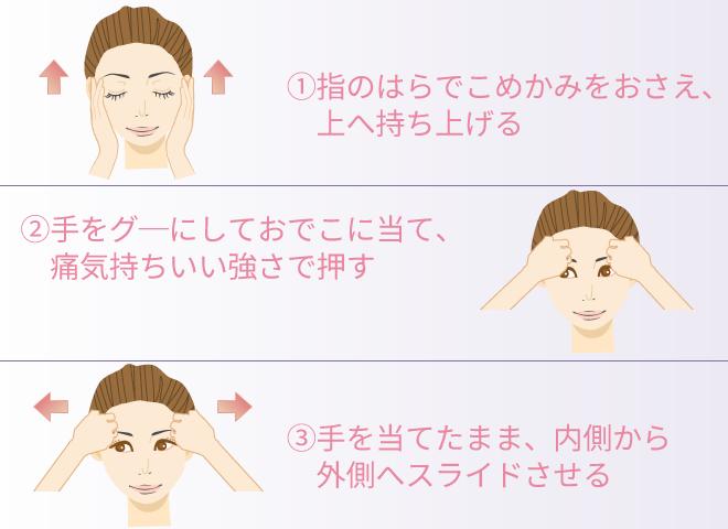 前頭筋を鍛えて顔全体をリフトアップ